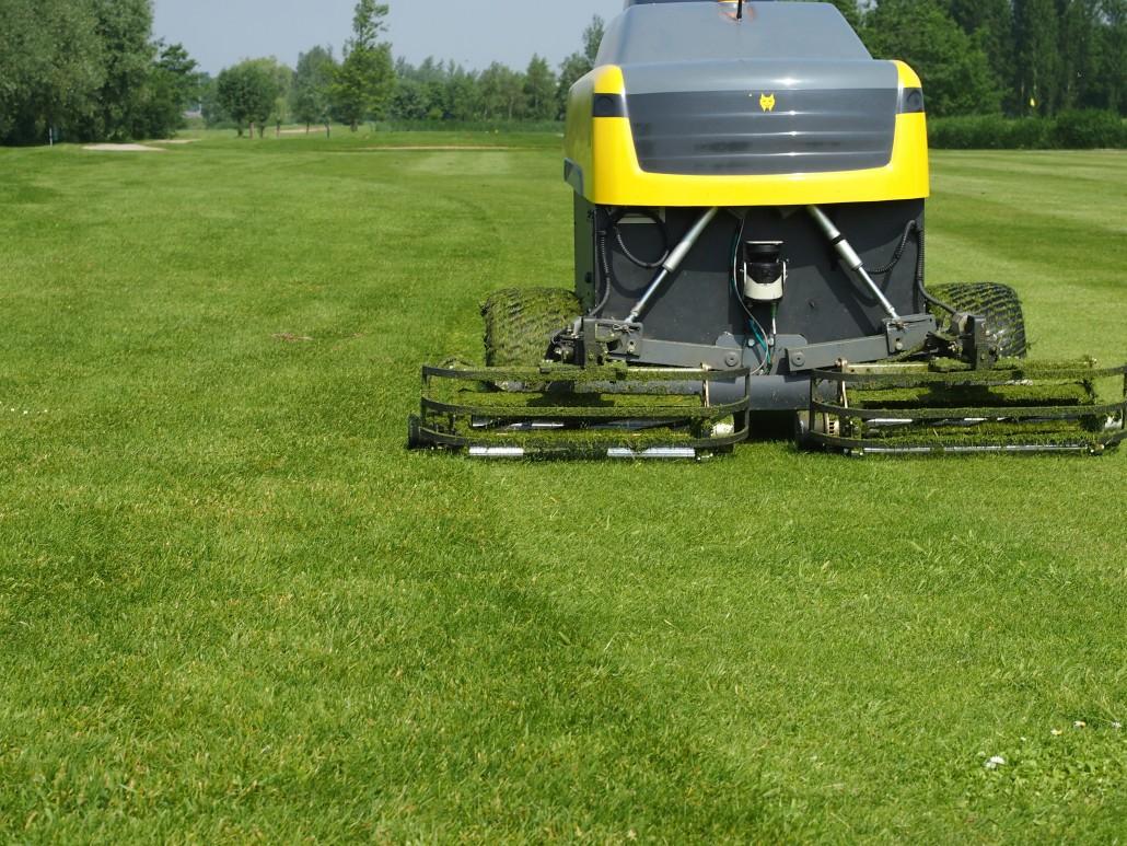 Autonomous Golf Course Mowers.